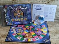 Trivial Pursuit - DVD Edition Board Game - By Parker Games - Family