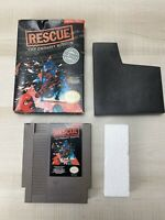 Rescue: The Embassy Mission in Box No Manual NES Nintendo Tested Working
