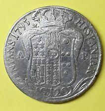 FERDINANDO IV,  120 GRANA 1795 REGNO DI NAPOLI