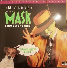 The Mask Jim Carrey Widescreen Edition Laser Disc