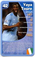 Yaya Toure - Manchester City Football Club Specials Top Trumps Card (C461)