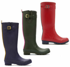 Joules Striped Rubber Boots for Women