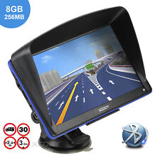 XGODY 7'' Capacitive GPS Navigator 8GB 256MB Bluetooth Navigation AU+EU Free Map