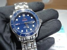 OMEGA Seamaster 300m Blue Ceramic Bezel 41mm Automatic Wristwatch