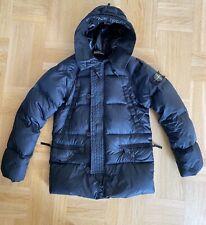 Stone Island Garment Dyed Goose Down Jacket AW08 Black Vintage
