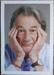 Sir Paul Smith DESIGNER Autogramm original signiert 21x15cm selten!