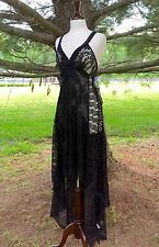 NEW Free People Alissa Limited Edition black Lace Appliqué Maxi Dress 2