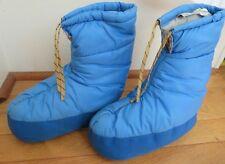 LL Bean women's XS blue insulated winter booties