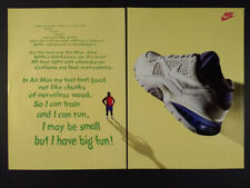 1993 Nike Air Max Training Shoes vintage print Ad