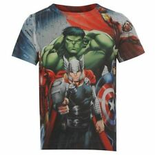 Marvel Boys' Novelty/Cartoon Polyester T-Shirts & Tops (2-16 Years)