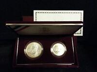 **RARE 1998 US Mint Silver Uncirculated Matte Kennedy Collector Set Box &COA