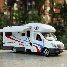 1:32 Luxury Motorhome Recreational Vehicle RV Trailer Diecast Car Model Toy