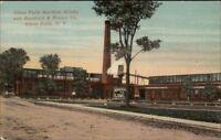 Glens Falls NY Machine Works Kendrick & Brown Co c1910 Postcard