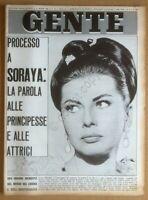Gente n. 10 1965 - Soraya - Brigitte Bardot - Walter Bonatti - Sandro Mazzola