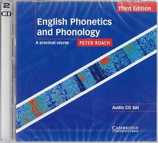 Cambridge ENGLISH PHONETICS AND PHONOLOGY:Practical Course 3rd Ed AUDIO CDs @New