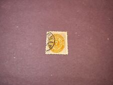 Danish West Indies Stamp Scott# 9  Numeral of Value  1874-79  C136