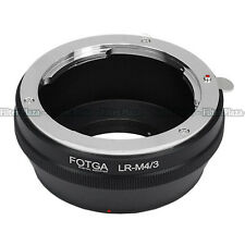 Leica R lens to Micro 4/3 M4/3 Adapter for E-P1 E-P2 E-PL1 GF1 GF2 G1 G2 G3 GH1