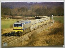 Postcard Railway FOSTER-YEOMANS Class 59 Privately Owned 59004 YEOMAN CHALLENGER