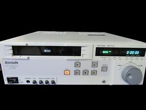Vintage Panasonic AG-7150 SVHS Super VHS Professional Video Cassette Player VCR