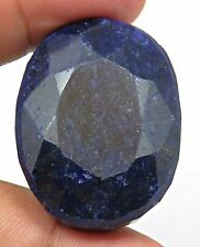 173 CTS HUGE NATURAL CERTIFIED BLUE SAPPHIRE PENDANT SIZE OVAL LOOSE GEMSTONES