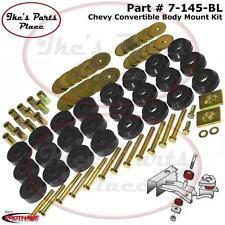 Prothane 7-145-BL Body Mount Bushing Kit 59-64 Chevy Impala/Belair Convertibles