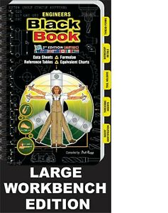 LARGE WORKBENCH  ENGINEERS BLACK BOOK current for 2021 (METRIC)