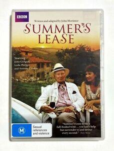 Summer's Lease - 1989 BBC TV Drama Series John Gielgud - RARE R4 2-DVD Set