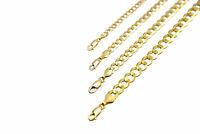 "14k Solid Yellow Gold Cuban Link Chain Necklace 1.5-12mm Men's Women Sz 16""-36"""