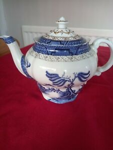 BOOTHS REAL OLD WILLOW  LARGE TEAPOT