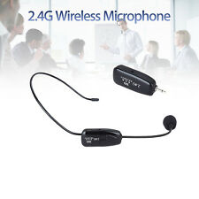 Wireless Headset Headworn Microphone for 2.4G Wireless Technology With Plug A27R