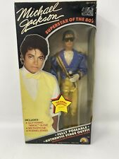 Vintage 1984 Michael Jackson Doll Grammy Awards Outfit Superstar Of the 80s NIB