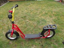 Ab 3 - 12 Jahre Großer Puky Roller mit 12 Zoll Lufträder und Bremse in Rot Gut !