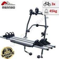 Menabo Stand Up 3 (Fulcrum) Fahrradträger Heckklappe 3 Räder TÜV GS Heckträger