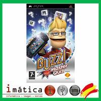 JUEGO PARA PSP BUZZ! MASTER QUIZ SONY UMD PLAY STATION PORTABLE 98729 PARTY BUZZ