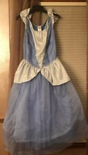 Disney the Dress Shop Cinderella Costume Halloween Magic Kingdom Size Large