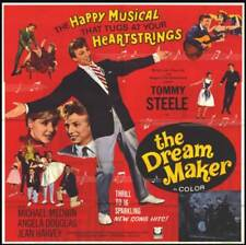 THE DREAM MAKER original 1964 large 6-sheet movie poster TOMMY STEELE