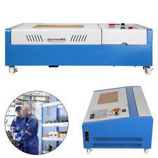 40W Grabador Máquina Actualizada con Ruedas Grabado Corte Láser CO2 300 x 200mm