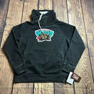 Alyssa Milano Touch Active Large Vancouver Grizzlies Pullover Funnel Neck Hoodie