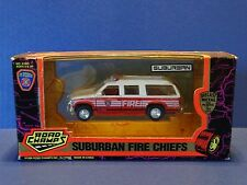 Road Champs 1996 Chevy Suburban Fire Chiefs Hartford Department 1:43 Diecast