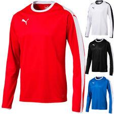 Puma liga Jersey de manga larga Camiseta fútbol deporte camisa de entrenamiento señores de equipo 703419