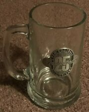 Nfl Pro Football Hall Of Fame 25th Anniversary Vintage Stein Beer Glass Rare