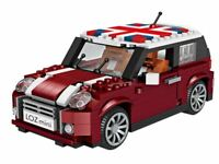 Mini Cooper LOZ Diamond Building Lego Blocks iBlock Fun 1:24 GTC