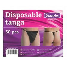 Pack of 50 Disposable Men G String Ideal for SprayTan or Waxing