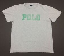 Vintage 90's Polo Ralph Lauren Spell Out T Shirt Size Large VTG