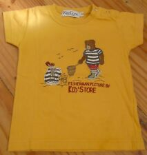 TEE-SHIRT MARQUE KID COOL - TAILLE 12 MOIS - TBE