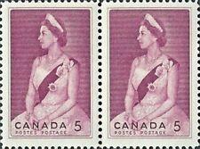 Canada    # 433 Pair   VF-NH  ROYAL VISIT   Brand New 1964 Pristine Original Gum