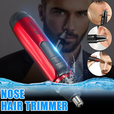 Electric Facial Shaver Nose Ear Face Hair Remover Beard Grooming Clipper Trimmer