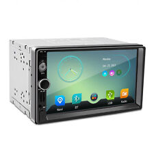 """7"""" HD Touch Screen Double 2 DIN Car GPS Stereo DVD Player Bluetooth Radio"""