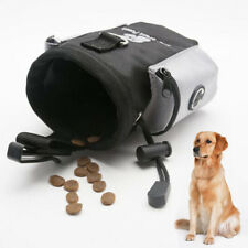 Pet Dog Treat Snack Bag Feeding Bait Pouch Poop Bags Dispenser Belt Clip