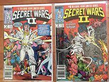 Marvel Comics SECRET WARS II #6, 8; The Beyonder 1985 VF/NM to NM-